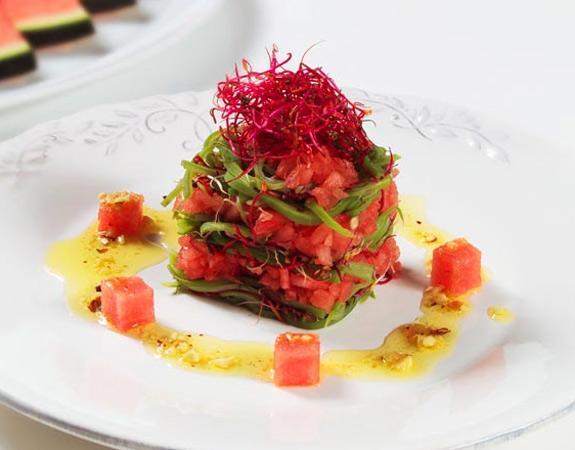 La sandía, ingrediente de las recetas más originales, refrescantes… ¡y saladas!