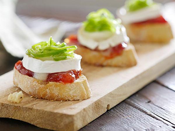 tapas con queso fresco receta