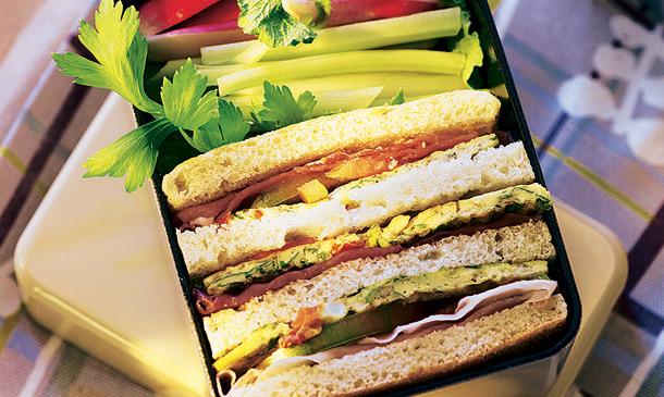 Sándwiches y bocadillos 'playeros': ¿Quién dijo monotonía?