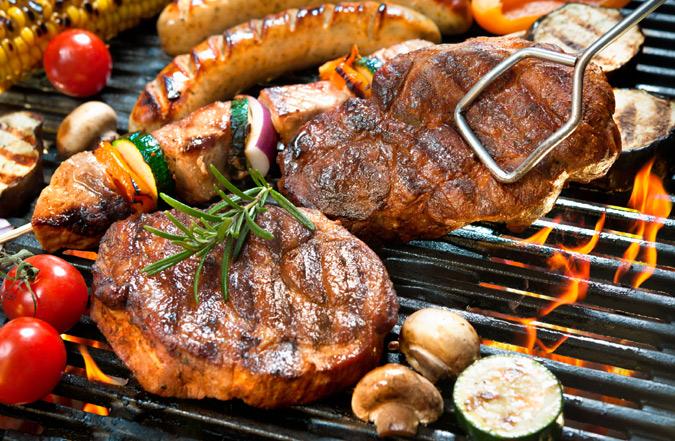 Ideas para preparar carne a la barbacoa y obtener un resultado 39 diez 39 - Tipos de barbacoas ...