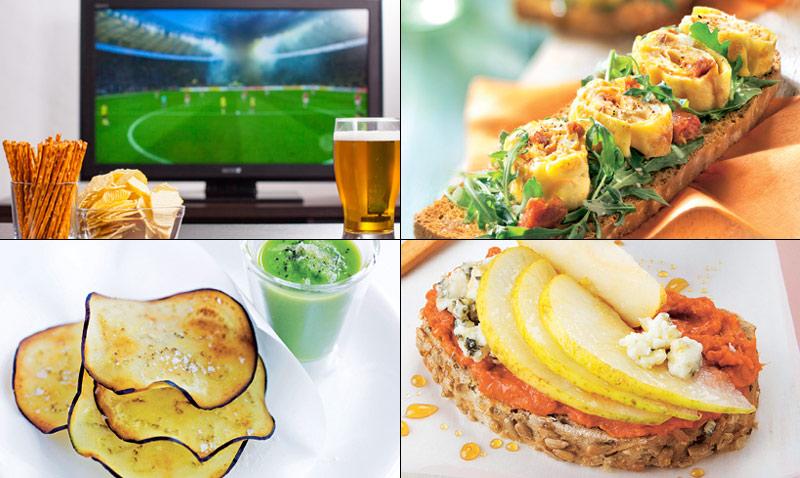 'Eurocopa 2016': diez ideas para un picoteo 'très chic'
