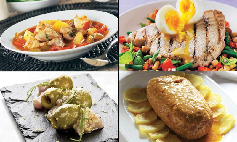 Cuatro recetas de temporada… ¡bonitas, bonitas!
