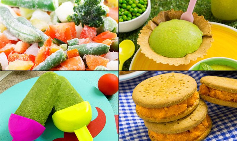 Helados de verdura: refrescantes, originales, sanos… ¡y deliciosos!