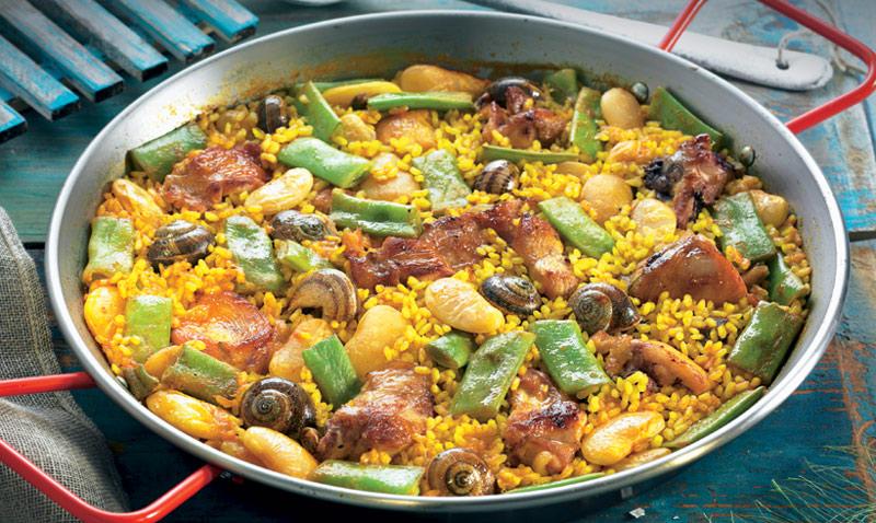 Cocina tradicional sabes qu ingredientes incluye la for Cocina valenciana