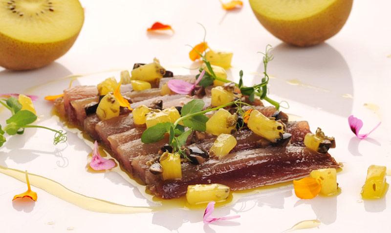 Clase de cocina: El kiwi, un delicioso contrapunto para tus recetas saladas