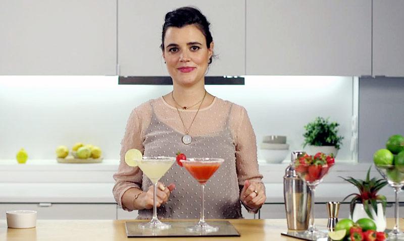 Deliciosas margaritas: ¿clásicas o con fresa y jalapeños? ¡Daphne Fernández nos enseña a preparar ambas versiones!