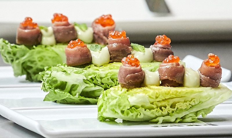 39 showcooking 39 seis recetas marineras que querr s devorar for Curso cocina vegana madrid