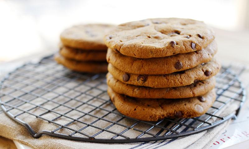 ¿Cómo hacer que unas galletas de chocolate se conviertan en un placer un poco menos 'culpable'?