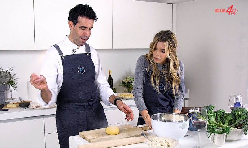 En vídeo: Aprende a cocinar pasta con Michelle Salas… ¡como si fueras un chef 'Michelin'!