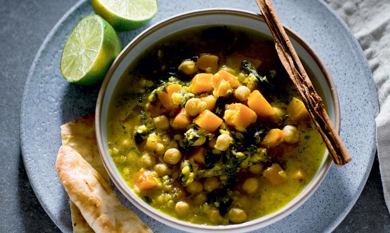Cocina vegetariana: Cúrcuma, canela, cilantro… ¿te apetece un potaje de Cuaresma diferente?
