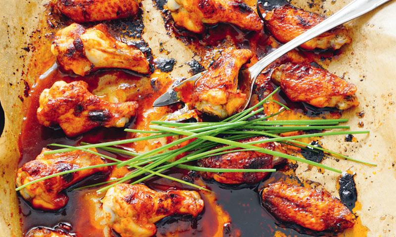 ¡Deliciosas alitas de pollo! Y a ti, ¿cómo te gustan más?
