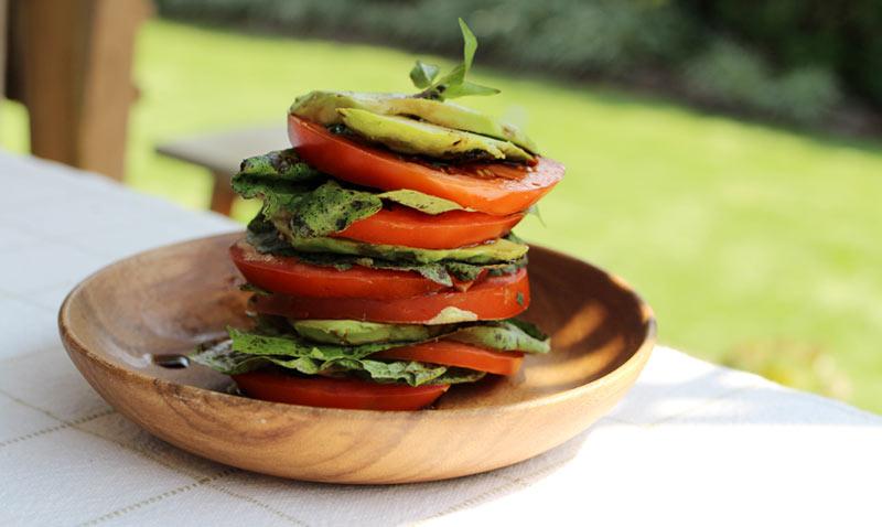 Una manera muy vistosa y diferente de presentar tus ensaladas
