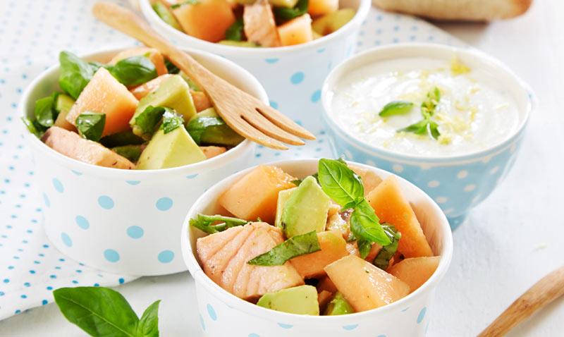 Recetas frías: Salmón, un ingrediente ideal para tus ensaladas de verano