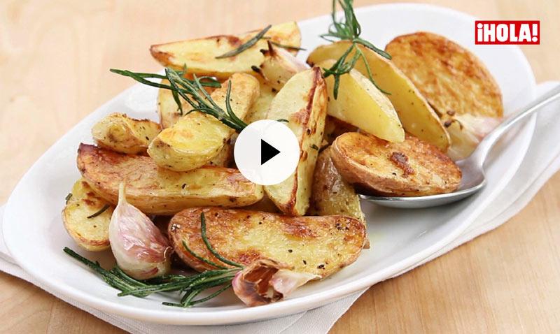 Vídeo-recetas: Patatas al romero… ¡mucho sabor, cero dificultad!