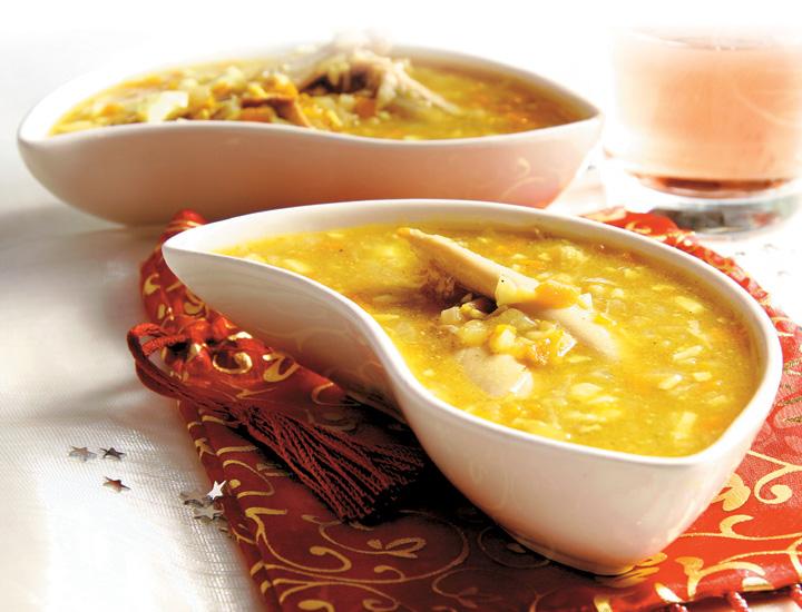 Platos de cuchara mi reino por una sopa - Sopa castellana casera ...