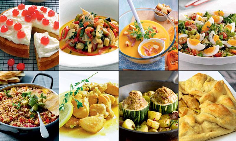 Las diez recetas m s vistas del a o en - Escuela de cocina vegetariana ...