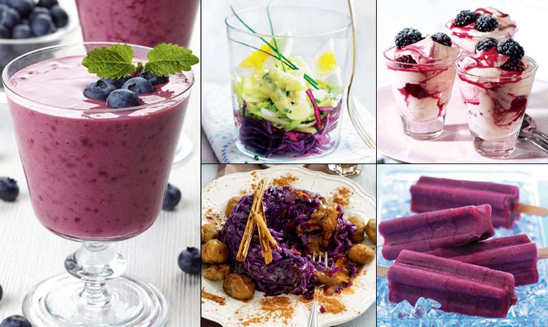 Tendencias 'gastro': Violeta, el color de moda... ¡también en el plato!