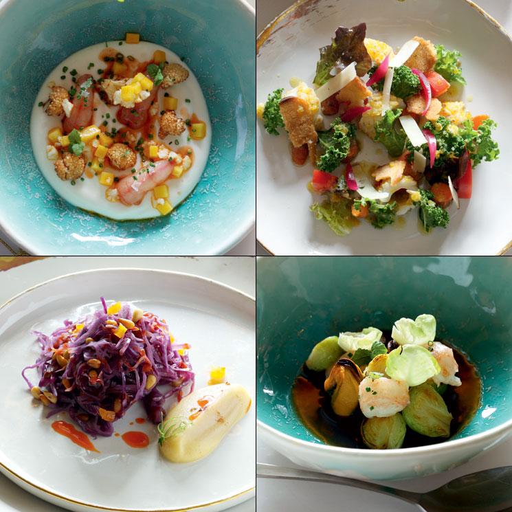 Captivating Alta Cocina Vegetal: Platos De Verdura Que Son Pura Belleza E Inspiración
