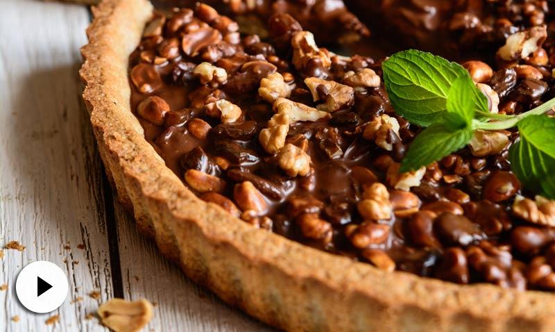 En vídeo: pastel de chocolate y nueces. ¡Date un capricho dulce!
