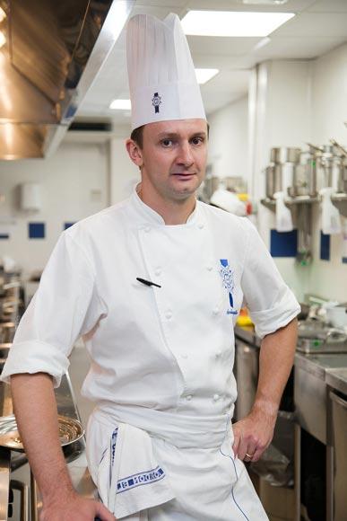 Entrevista al chef Arnaud Guerpillon: 'La cocina es el placer de comer bien y de dar placer a los demás'