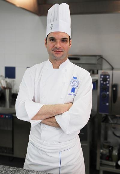 Chef v ctor p rez chef profesor de cocina espa ola for Jefe de cocina alicante