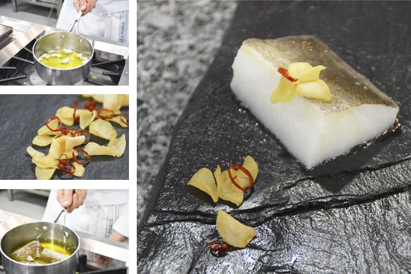 Técnica de cocina: Aprende a confitar un bacalao