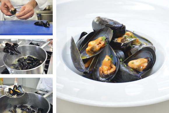 Cómo preparar mariscos al vapor