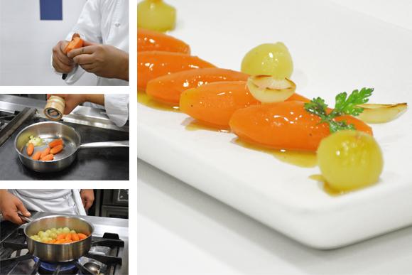 Aprende A Tornear Y Glasear Verduras Zanahoria ratings & reviews explanation. aprende a tornear y glasear verduras