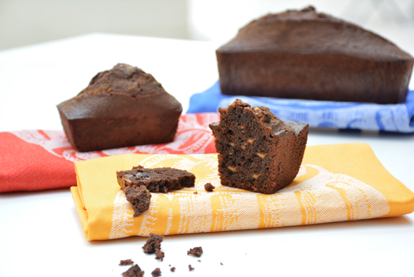 'Cake' de chocolate y gianduja sin gluten