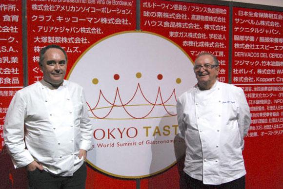 La cocina de Ferran Adrià y Juan Mari Arzak viaja hasta Japón