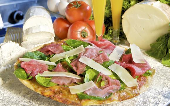 Una 39 pizza margarita 39 por menos de dos euros te contamos for Pizza jardin precios