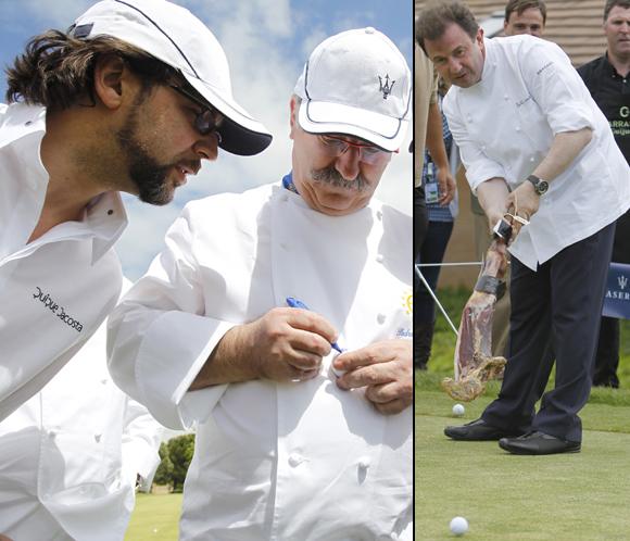 Berasategui, Arola, Subijana... de cocineros a golfistas, por una buena causa