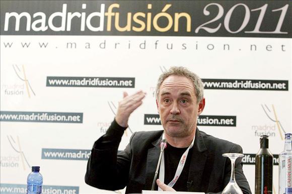 Ferran Adrià: 'Podría haber cerrado El Bulli y vivir como un marajá pero a mí me gustan los riesgos'