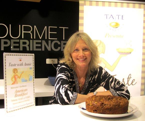 Annie Popelka, chef estadounidense: '¿Cocina de EEUU sinónimo de Fast Food?... ¡para nada!'