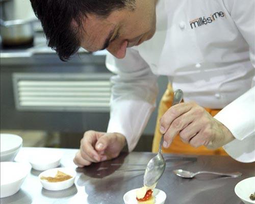 El chef Ramón Freixa lleva su cocina hasta Colombia