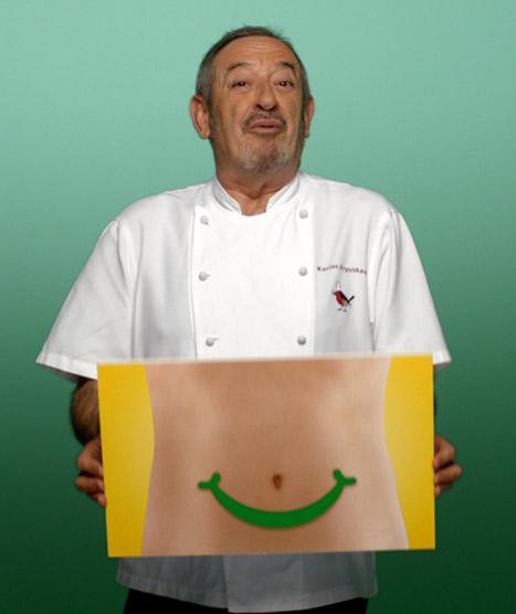 ¿Por qué Arguiñano, Coronado, Malú y Malena Alterio tienen 'la barriga feliz'?