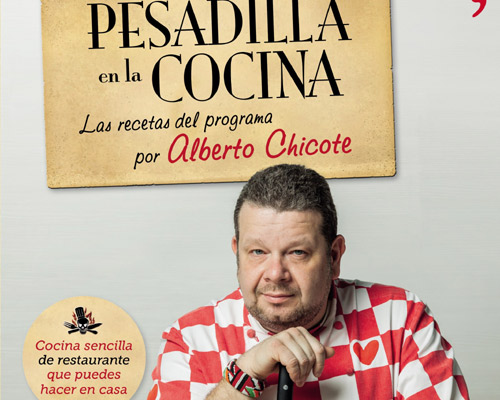 Alberto Chicote lanza un libro con las recetas de 'Pesadilla en la Cocina'