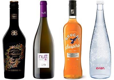 Un ron 'light', una botella de agua 'vestida' por Elie Saab… ¿qué hay de nuevo en la sección de bebidas y destilados?