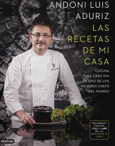 El chef andoni luis aduriz nos ense a a cocinar como en casa for Articulos de cocina para chef