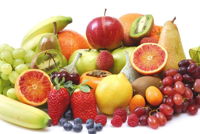 Refrescantes alimentos de verano