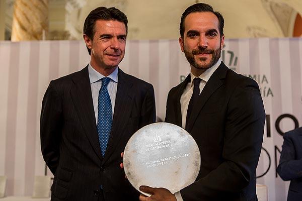 El chef Mario Sandoval, 'Premio Nacional de Gastronomía 2013'