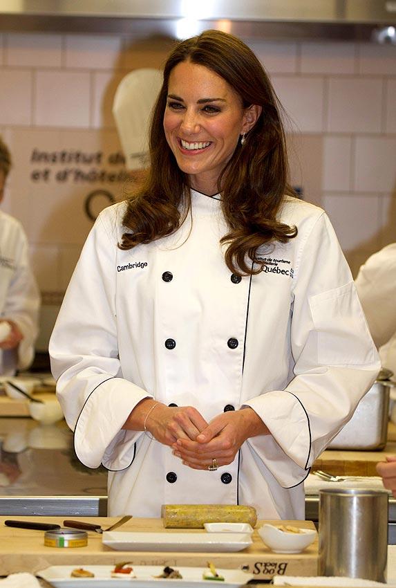 La duquesa de cambridge da clases de cocina con la - Cursos cocina asturias ...