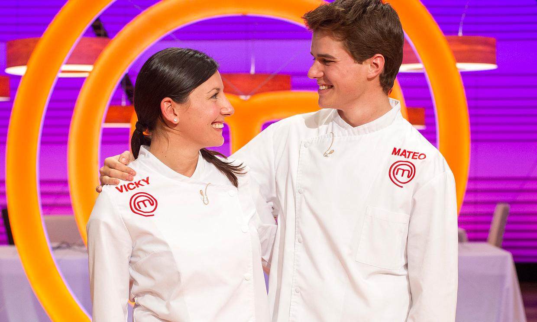 Vicky y mateo finalistas de masterchef - Escuela de cocina masterchef ...