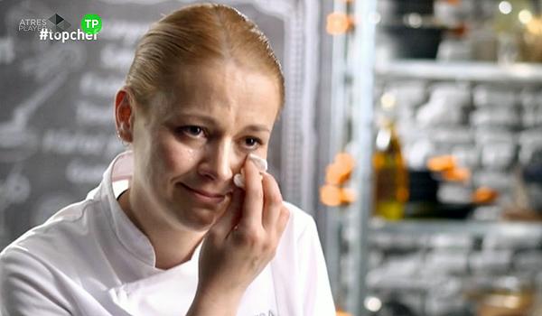 Teresa Gutiérrez se despide entre lágrimas de 'Top Chef' en el programa más 'carnívoro' de la temporada