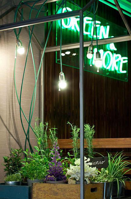 'Gastro-planes' para el fin de semana: Mesas en clave verde