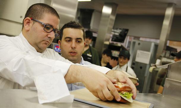¿Te apetece una hamburguesa 'de autor'?