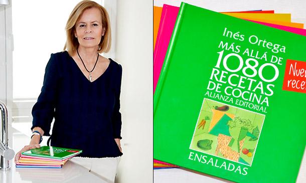 Inés Ortega, escritora gastronómica: 'Cocinar y comer de forma saludable es fácil'
