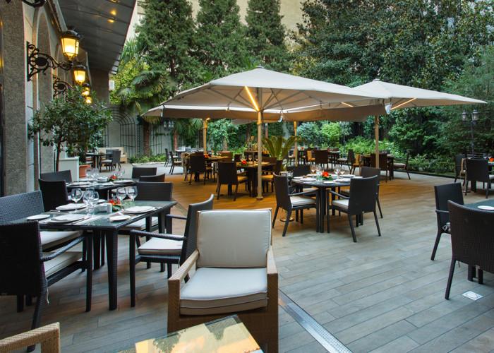 Ocho preciosas terrazas que te sorprender n donde menos te lo esperas foto 10 - Restaurante el jardin de recoletos ...