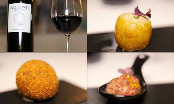 Los vinos de J. Belmonte y las tapas de Pedro Larumbe: ¡delicioso maridaje!