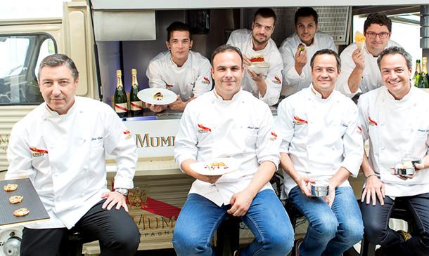 Alta cocina y 'street food' con Joan Roca, Ángel León y los hermanos Torres